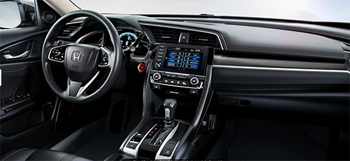 2019 Honda Civic Interior - Tiger Honda