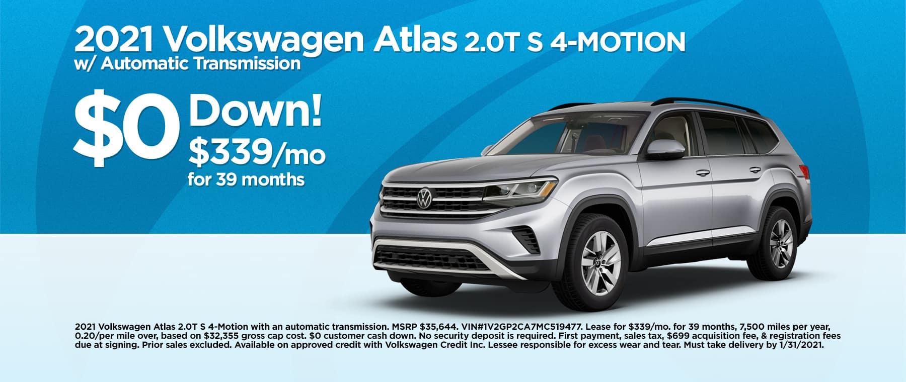 2101 VW Atlas