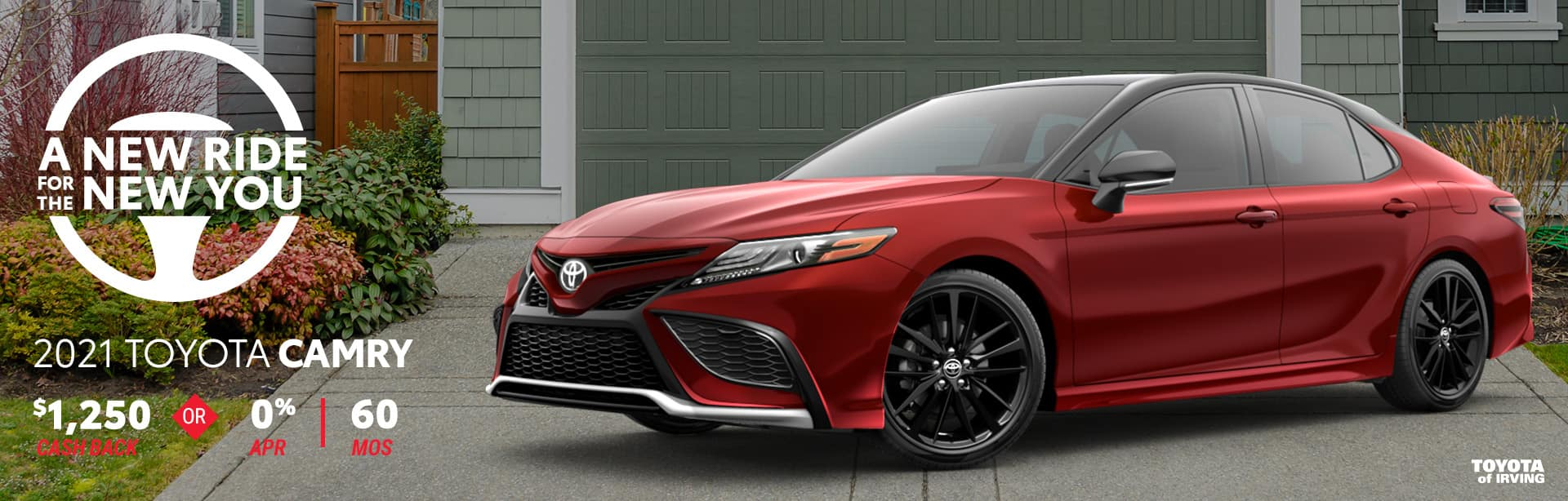 2021 Toyota Camry April Incentives