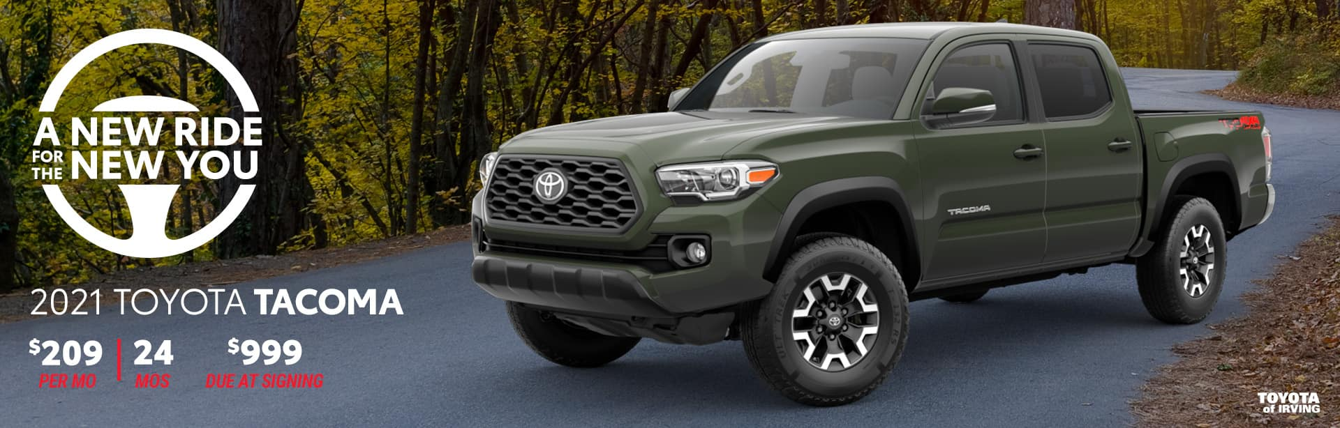 2021 Toyota Tacoma April Incentives