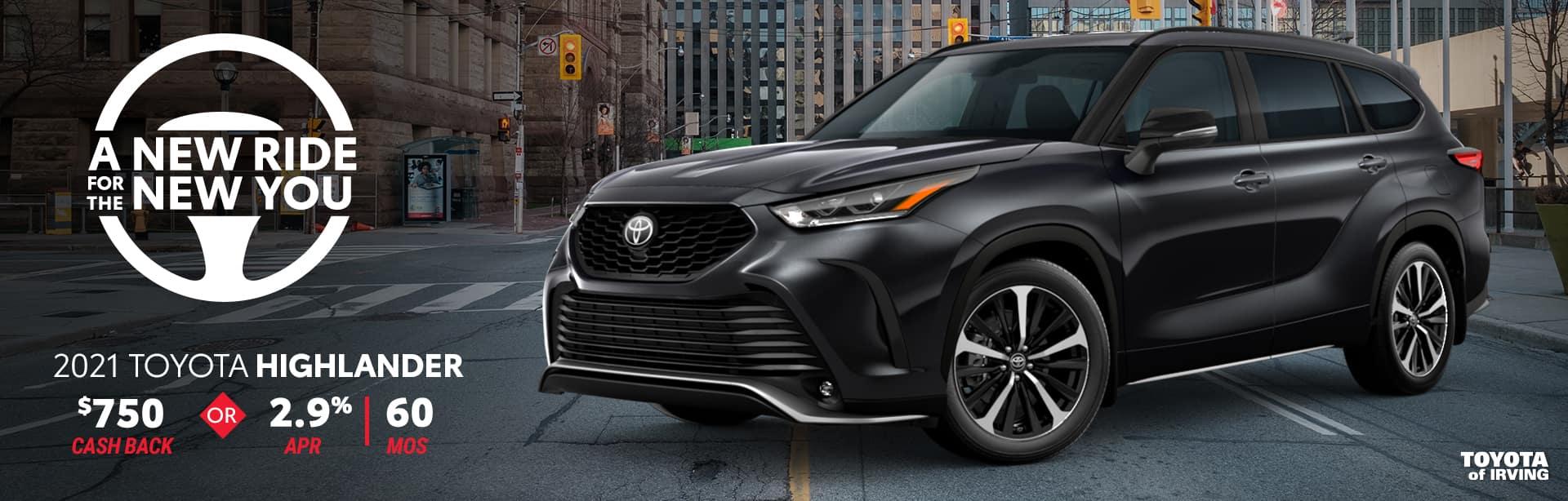 2021 Toyota Highlander Offer