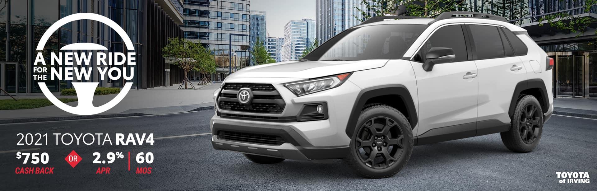 2021 Toyota Rav4 Offer