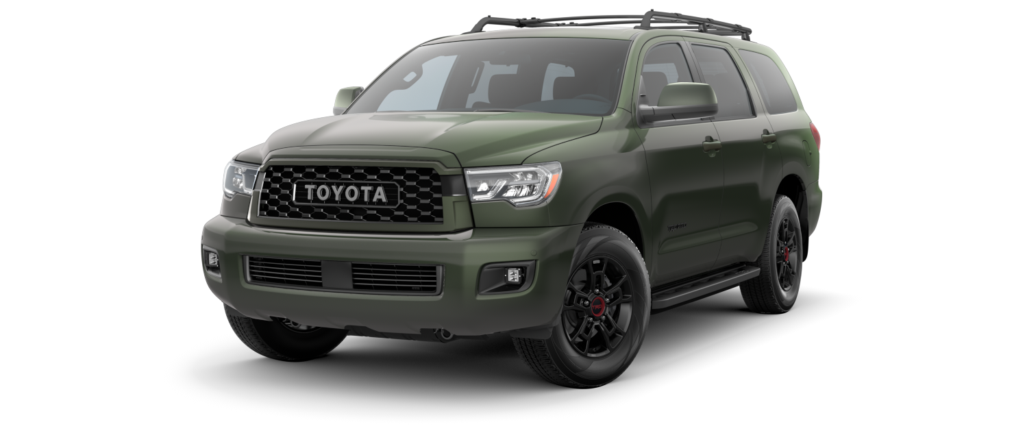 2020 Toyota Trd Pro Army Green 4runner Sequoia Tacoma Tundra Toyota Of Irving
