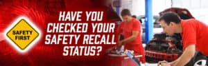 Check for Safety Recalls