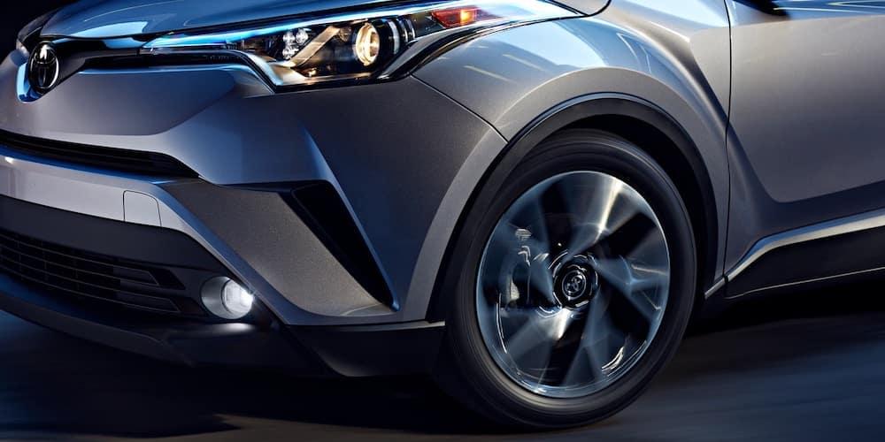 2019 Toyota C-HR Wheel Spinning