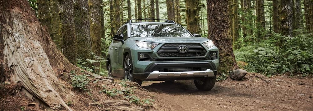 2020 RAV4 in Woods