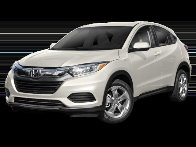 White 2019 Honda HR-V