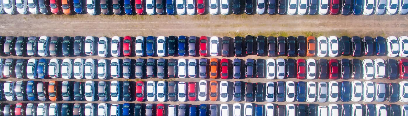 Used Cars from Above