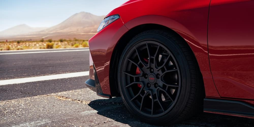 2020 Avalon TRD Wheel and Tire