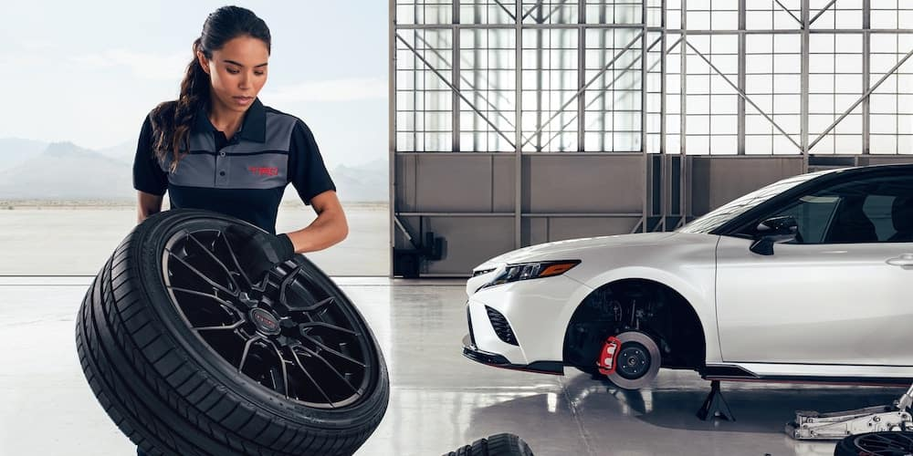 2020 Camry TRD Wheel and Caliper