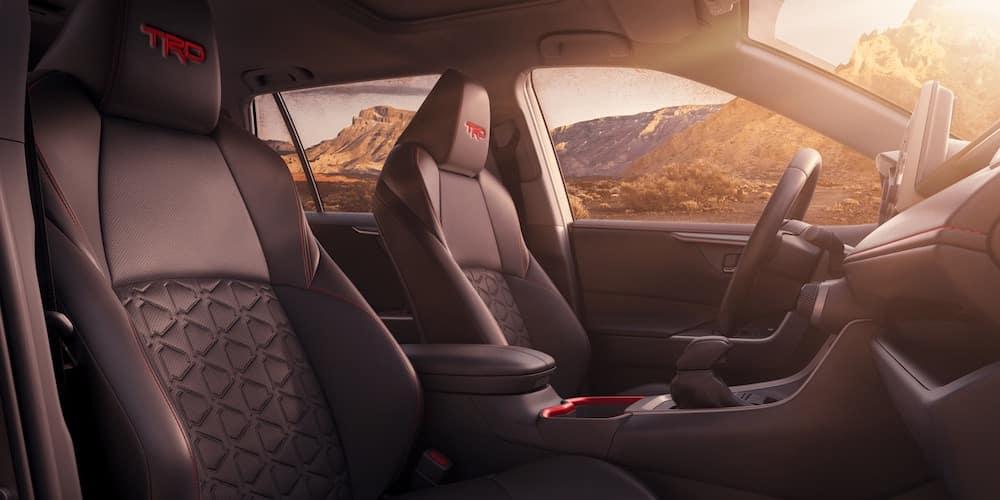 2020 RAV4 TRD Off-Road Interior