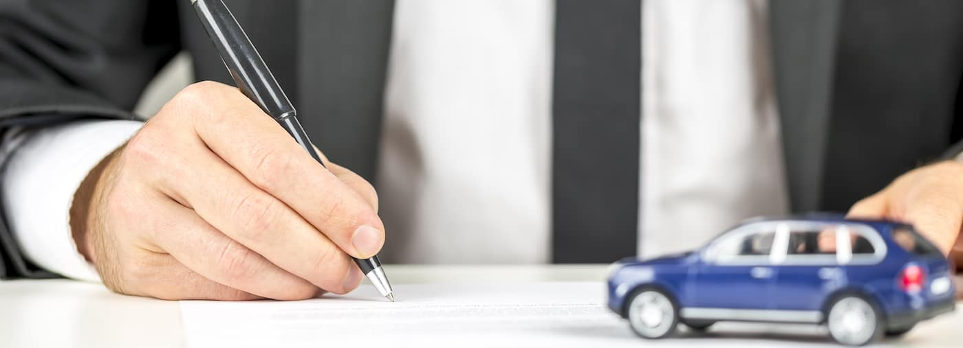 Finance Documents for Car