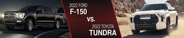 Ford F-150 Vs Toyota Tundra Comparison