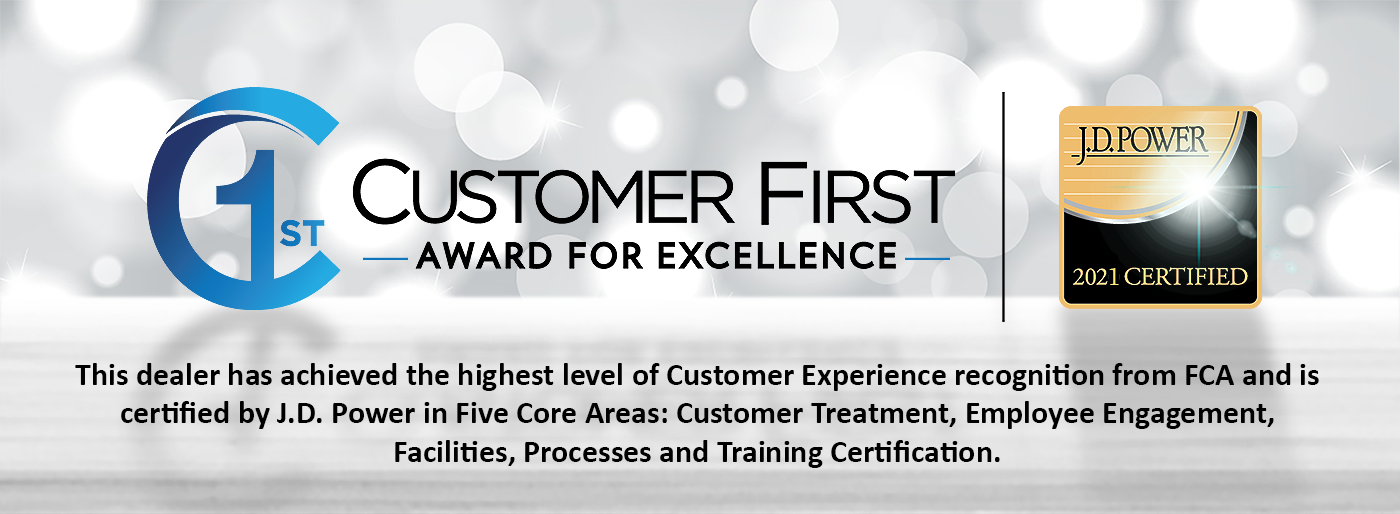 Customer First 2021 Certfied Banner