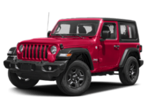 2019 JEEP wrangler red