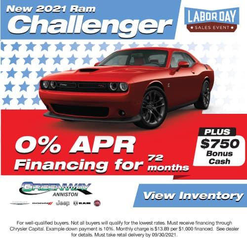 New 2021 Challenger