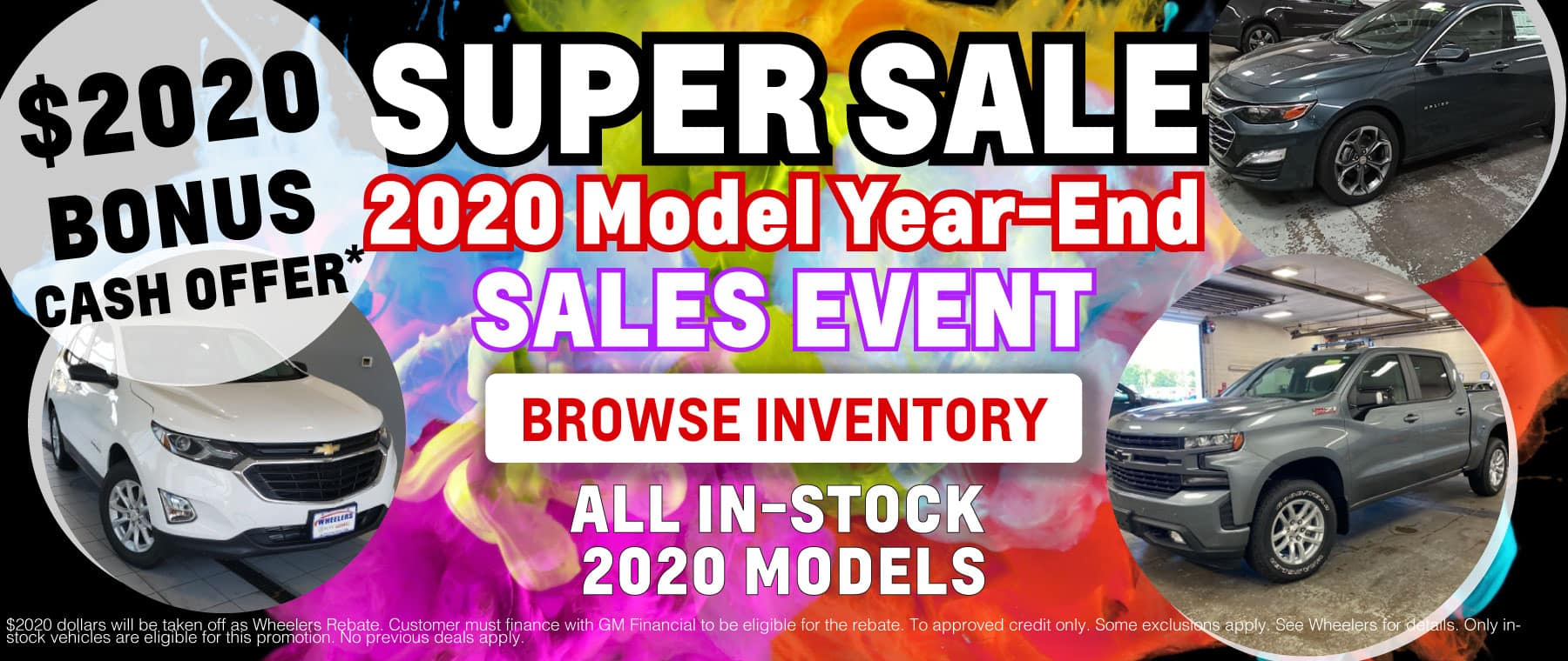 2020 Year End Model Sales Events