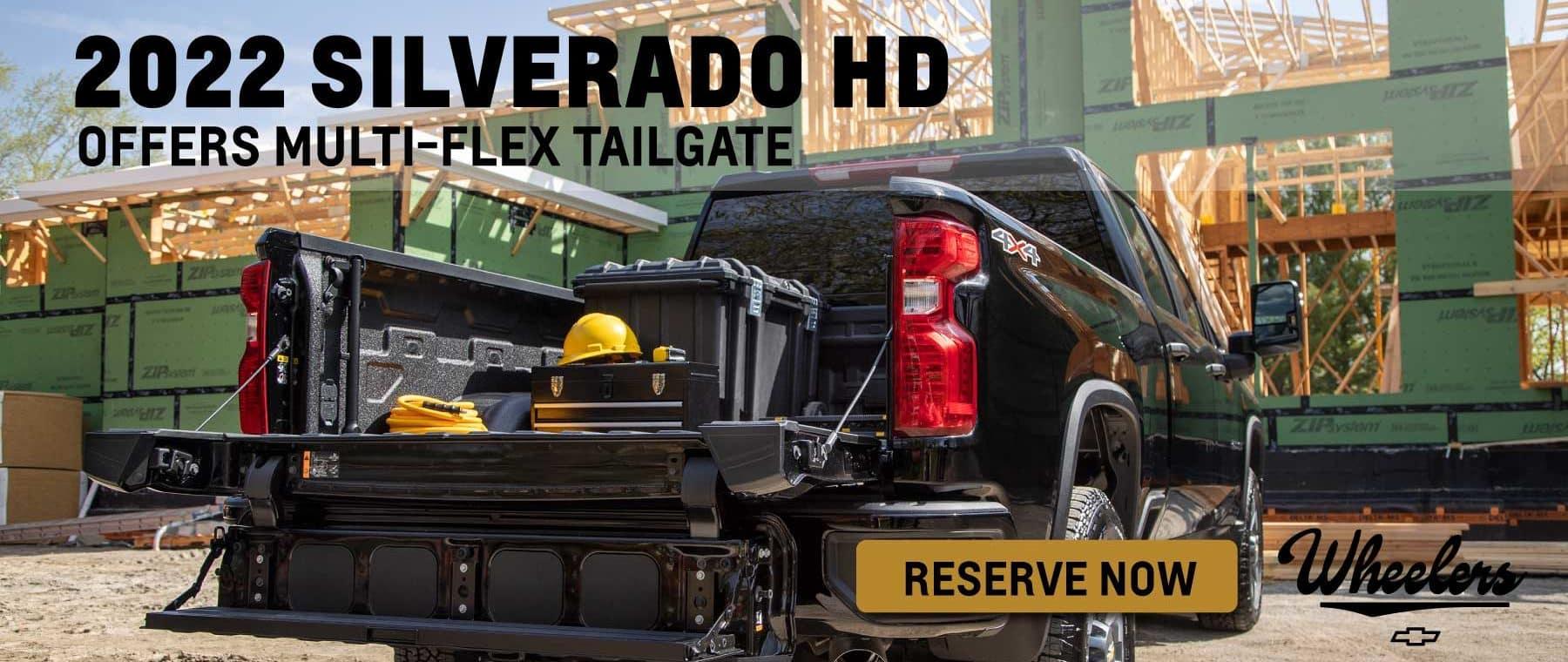 2022 Chevrolet Silverado HD Reserve Now